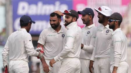 Mohammed Shami was the pick of the bowlers against Sri Lanka