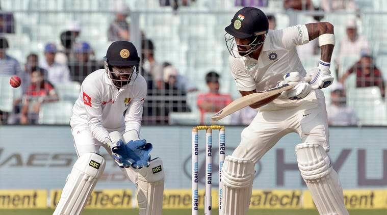 Dhawan, KL Rahul take India to 49 run lead