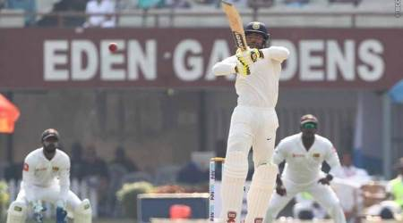 India vs Sri Lanka, Live Cricket Score, 1st Test Day 5: India lose Wriddhiman Saha, Virat Kohli fights on against Sri Lanka