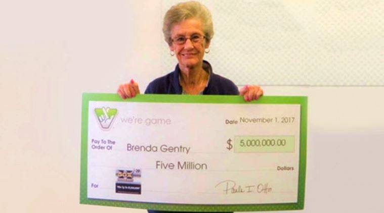 lottery, lottery prize, woman wins three lottery prizes, three lottery prizes us woman, united states lottery, 00 + 0 +  cash prize, indian express, indian express news