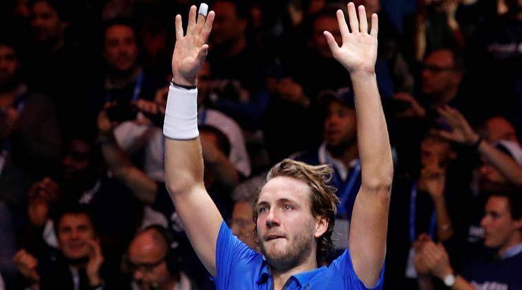 Pouille Ends France's 16-Year Davis Cup Wait