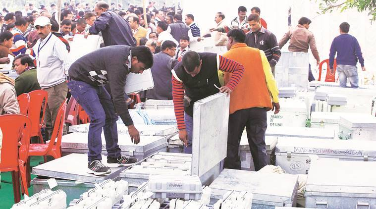 evm hacking, electronic voting machines, can evms be hacked, evm hacking explained, how can evms be hacked, syed shah evm hacking, evm hacking experts, how evms function, elections evms, voting machines, india news, indian express explained