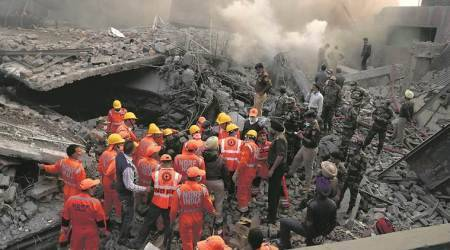 Ludhiana factory fire & collapse: Chemicals storage stock register burnt in fire, factory owner tellspolice