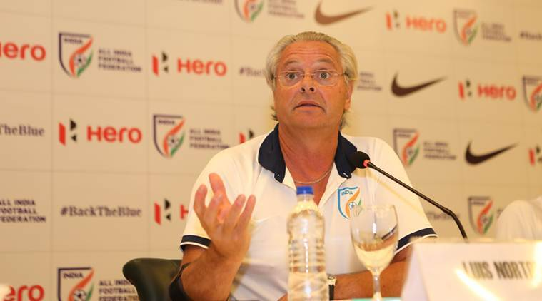 luis norton de matos, india vs turkmenistan, india u19 football