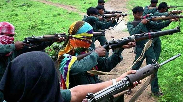 maoists killed in encounter, bijapur maoist encounter, chhattisgarh maoists killed, Greyhounds, eight maoists killed, CRPF encounter, indian express