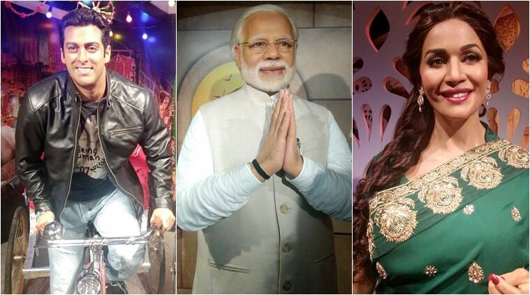 Madame Tussauds, Madame Tussauds delhi, Madame Tussauds india, wax museum, Salman Khan, Sachin Tendulkar, Ranbir Kapoor, celeb wax models, what is Madame Tussaud, who all are there in Madame Tussaud, Indian express, Indian express news