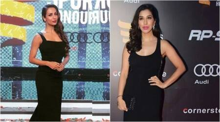 Twinning in black, Malaika Arora and Sophie Choudry look phenomenal at Indian Sports Honours