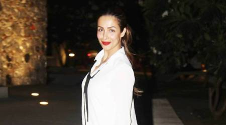 Malaika Arora adds X-factor to her white shirt dress with this accessory; see pics