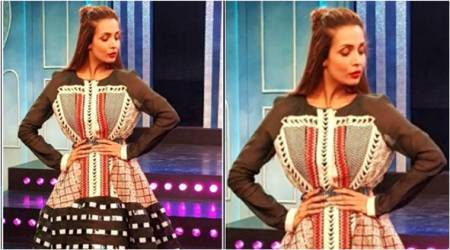Malaika Arora proved age is just a number in this sensational black skaterdress