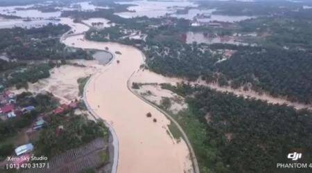 Five dead, thousands flee as floods hit Malaysia's Penang