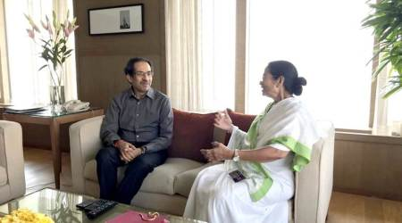 Uddhav Thackeray and Mamata Banerjee meet, GST and demonetisation on table