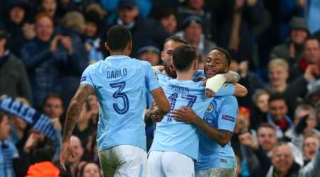 Raheem Sterling scores as Manchester City top UEFA Champions League group