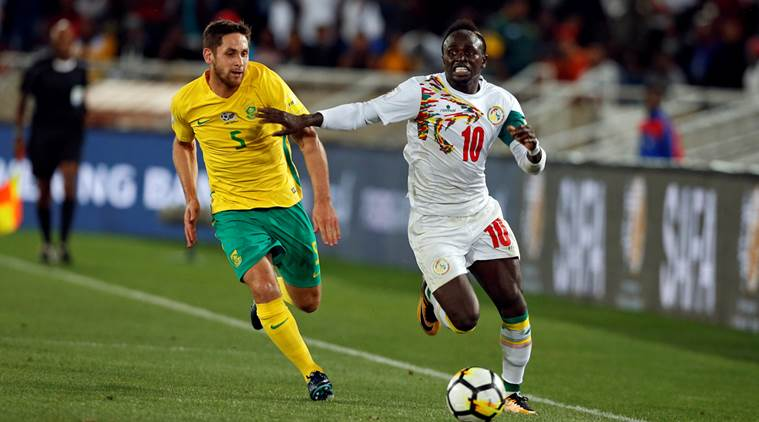 sadio mane, mane, senegal, south africa, world cup qualification, world cup, football, sports news, indian express