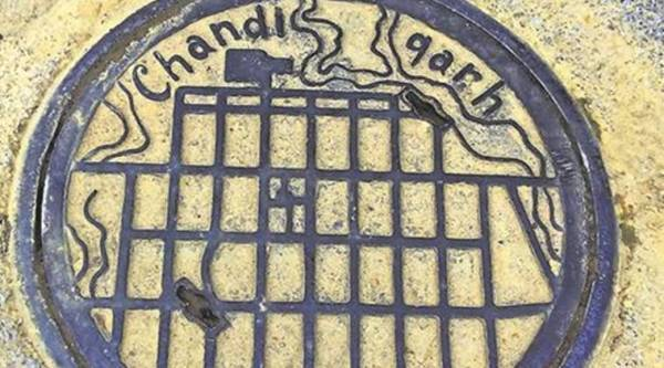 chandigarh, manholes, le corbusier, union territory, urban planning, architecture, heritage,