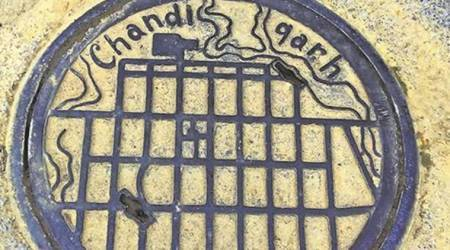 chandigarh, manholes, heritage, le corbusier, architecture, urban planning, indian express, express web