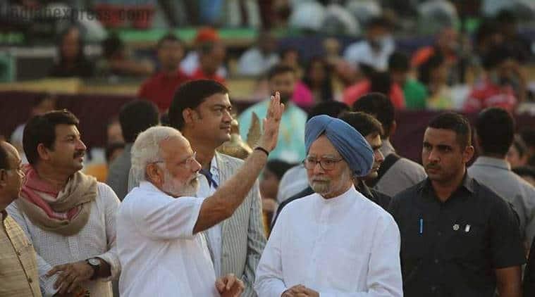 Manmohan Singh, Narendra Modi, demonetisation, note ban, demonetisation anniversary, bjp, congress, indian economy, indian express