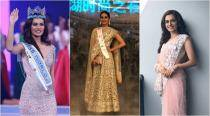 Manushi Chhillar's stunning looks from the Miss World pageant; from Manish Malhotra to Falguni-Shane Peacock