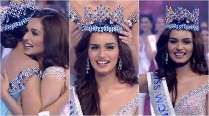 VIDEO: Watch Manushi Chhillar's WINNING MOMENT at Miss World 2017 contest
