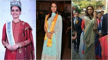 Miss World Manushi Chhillar continues to give us fashion goals with her impressive sartorial choices