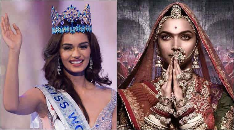 Miss World 2017 Manushi Chhillar on Padmavati row