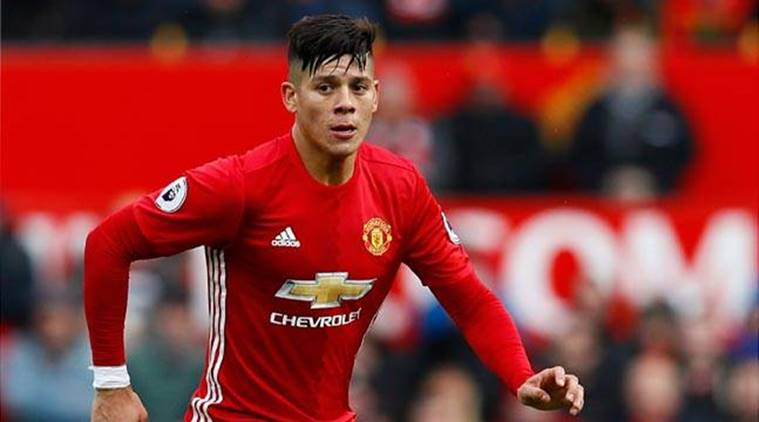 Marcos Rojo hopes to make a return for Manchester United