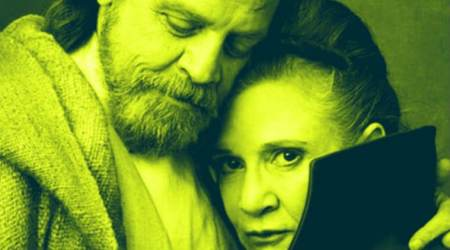 Star Wars The Last Jedi actor Mark Hamill pays tribute to late Carrie Fisher on Thanksgiving