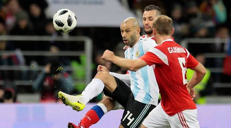 The 33-year-old Argentine played the entire game against Nigeria.
