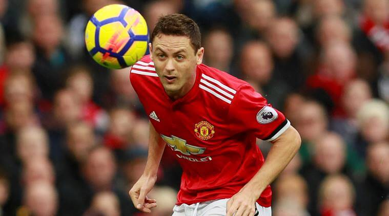 Image result for matic manchester united vs chelsea