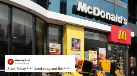 We're Lovin' it! McDonald's Black Friday tweet goof-up has everyone in splits, the excuse is even better