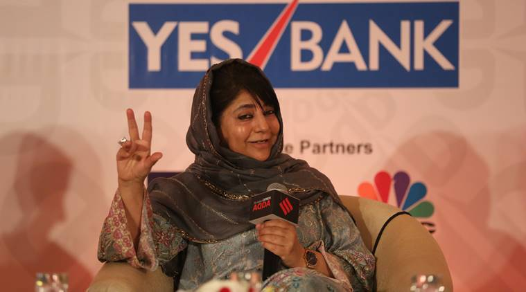 mehbooba mufti, mehbboba mufti express adda, jammu and kashmir, article 370,