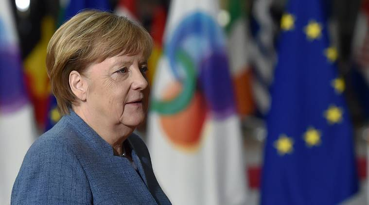 Angela Merkel leads Germany coalition talks