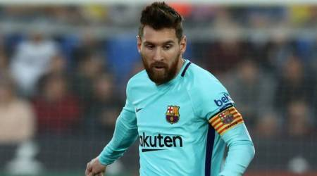 Lionel Messi receives fourth Golden Shoe as Europe's topscorer