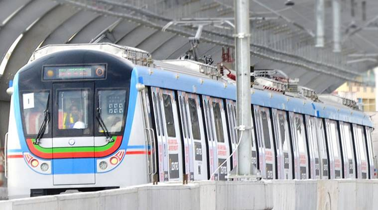 hyderabad metro, hyderabad metro rail launch, hyderabad metro features