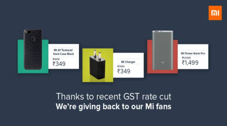 Xiaomi cuts prices on Mi Accessories due to GST Implementation