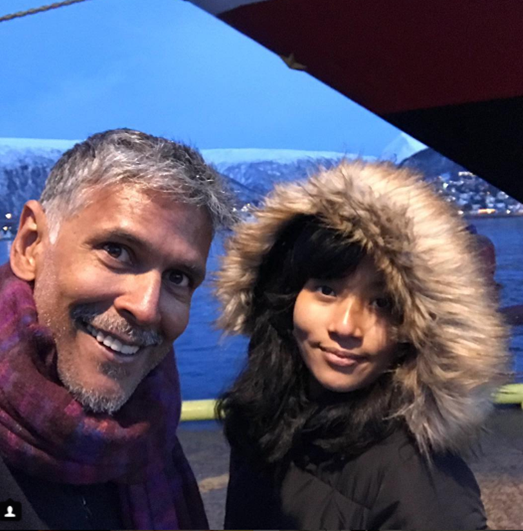 Milind Soman's perfect birthday vacation with girlfriend Ankita Konwar