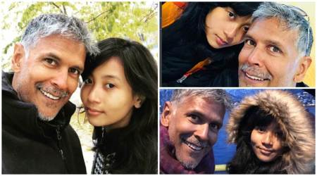 Photos: Milind Soman's perfect birthday vacation with girlfriend Ankita Konwar