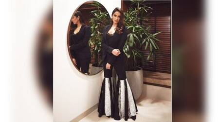 Mira Rajput gets it wrong in flared monotone pants that are better suited for a circus-themed party