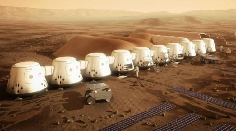 In a Mars City Design competition, an MIT team has won the contest, with a design titled Redwood City