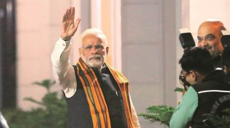 Narendra Modi on construction of roads