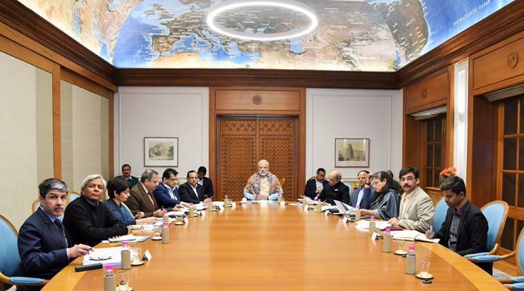 modi, nutrition, under nutrition meeting, pmo, niti aayog, global nutrition report, health news, stunted growth, indian express