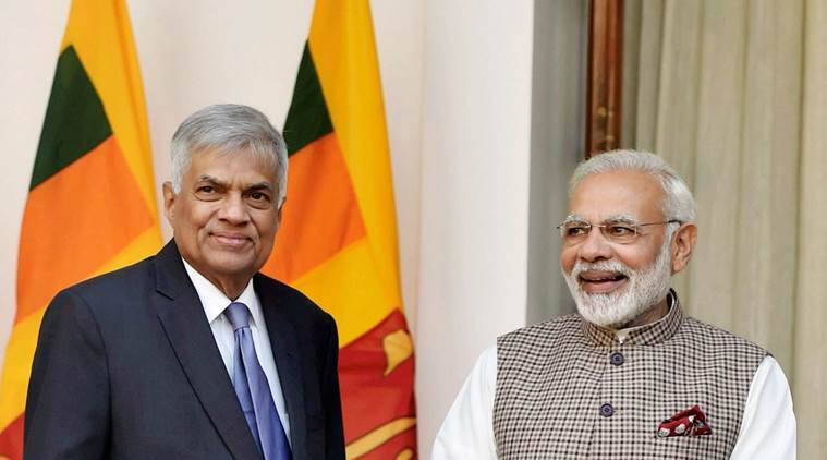 'Neighbourhood first': PM Modi meets his Sri Lankan counterpart Ranil Wickremesinghe