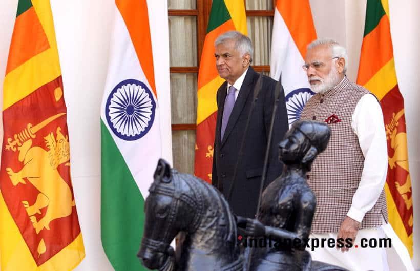 Modi meets Sri Lankan Prime Minister