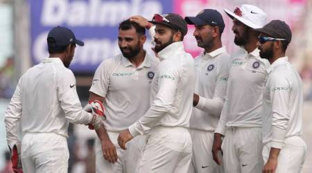 India vs Sri Lanka, 1st Test: On song Mohammed Shami, Bhuvneshwar Kumar continue India's pace domination