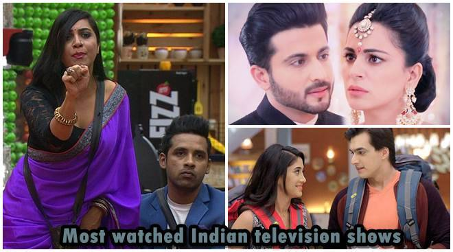 Most watched Indian television shows: Bigg Boss 11 soars up the BARC list in week 46