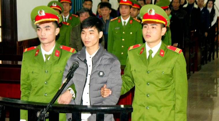 Image result for Vietnam court upholds jail term for blogger Mother Mushroom , T