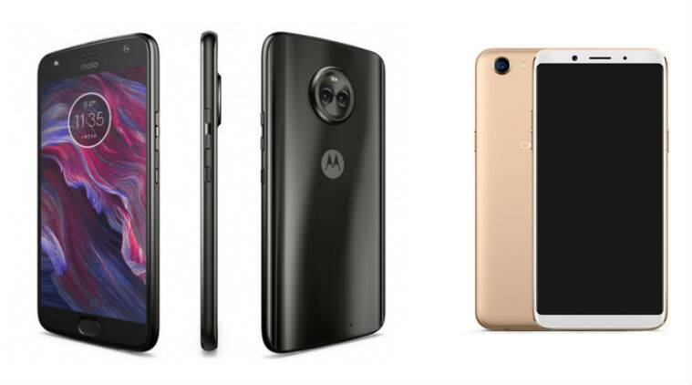Moto X4 vs Oppo F5 price in India specifications features comparison