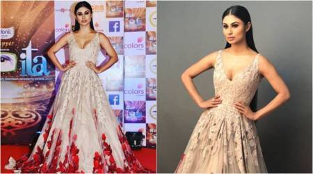 Mouni Roy's look in this Manish Malhotra gown could have been a hit, but her make-up went horribly wrong