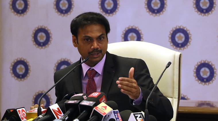 BCCI, MSK Prasad, CoA, Annual General Meeting, AGM, sports news, cricket, Indian Express