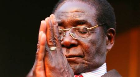Zimbabwe's Robert Mugabe cried when he agreed to step down:Report