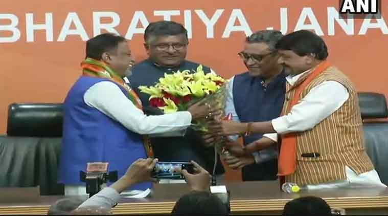 Finally, Mukul Roy joins BJP
